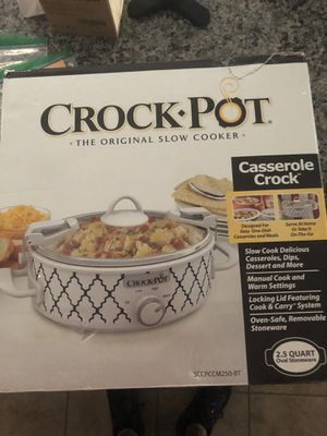 Crock Pot Slow Cooker NEW for Sale in CHAMPIONS GT, FL