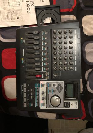 Tascam Eight track recorder with CD burner for Sale in Fountain Valley, CA