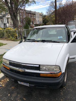 Chevy s10 1999 pickup truck for sale for Sale in Washington, DC