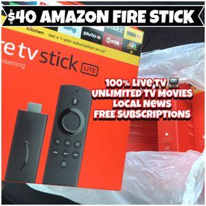 Amazon fire tv stick 🔥🔥 Free tv on iPhone iPad MacBook laptop for Sale in Wilmington, DE
