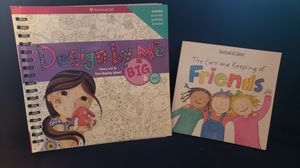 Two American Girl books, coloring and friends book for Sale in El Cajon, CA