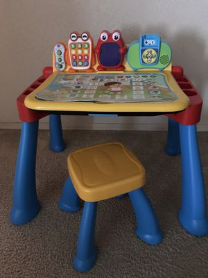 V tech learning table for Sale in Yuma, AZ