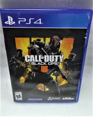 PS4 CALL OF DUTY BLACK OPS GAME for Sale in Clearwater, FL