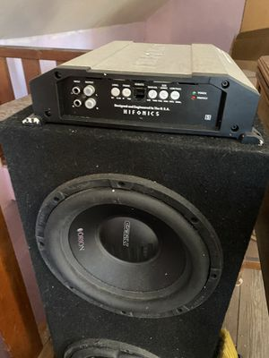 1000 watts sound car for Sale in Le Roy, MI