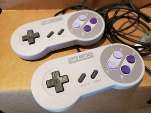 Super Nintendo SNES Classic Edition Controllers CLV-202 for Sale in North Highlands, CA