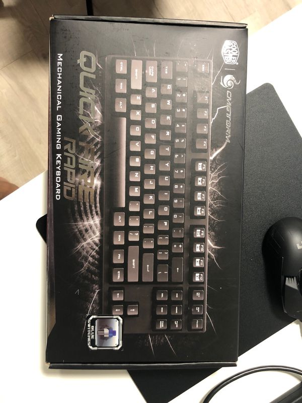 Coolermaster Quickfire Rapid Gaming Keyboard