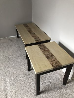Two wooden tables in very good condition. for Sale in Auburndale, FL