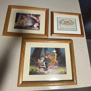 3 Nice Wood Framed Prints for Sale in Sumner, WA