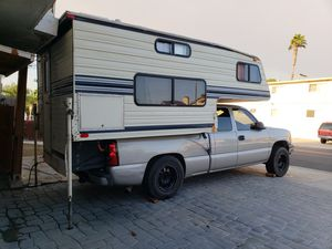 Chevy and camper for Sale in San Diego, CA