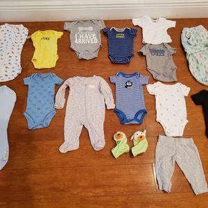 NEWBORN BABY CLOTHES BUNDLE - BOY for Sale in Hollywood, FL
