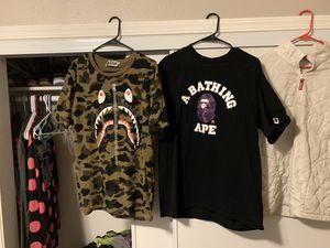 Camo Bape shirt for Sale in Oregon City, OR