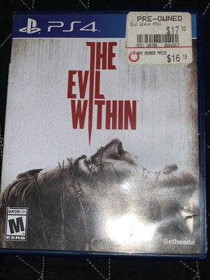 The Evil Within PS4 game for Sale in Fresno, CA