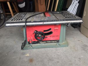 Portable Table Saw for Sale in Webster, MA