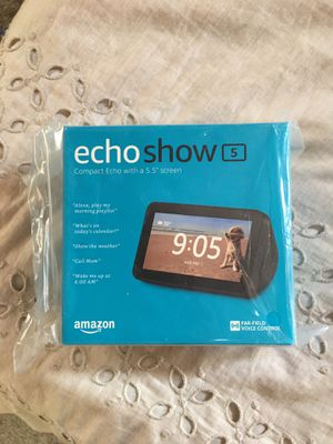 Sealed - Amazon Echo Show 5 with Alexa for Sale in Hayward, CA