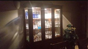 China cabinet with matching formal dining table for Sale in Gulf Breeze, FL