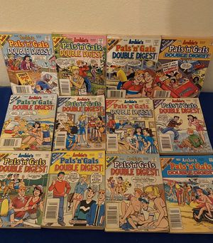 Archie's Pals 'n' Gals Double Digest Comics (12) for Sale in San Antonio, TX
