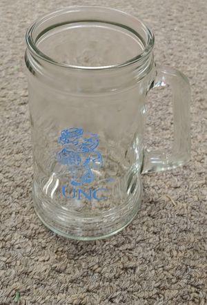 Vintage 1985 Anchor Hocking UNC Glass Mug for Sale in Burlington, NC