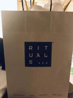 New Makeup Brushes and Skincare Beauty Wrapped in Rituals Gift Bag for Sale in Huntington Beach, CA