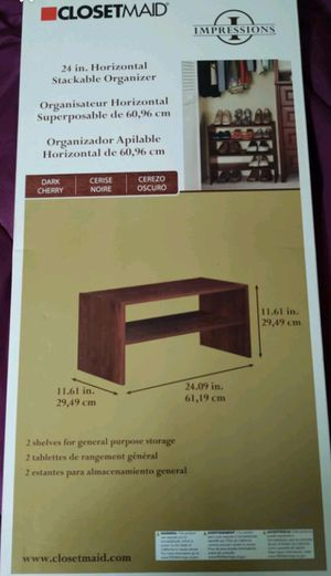 New Horizontal Stackable Organizer for Sale in Greeneville, TN