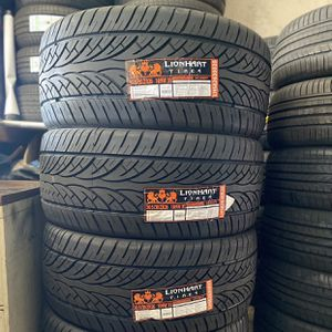 305/30R26 Four Brand New Tires Installed and Balanced for Sale in Rialto, CA