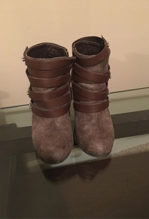 Brown Dollhouse boots for Sale in Fayetteville, NC