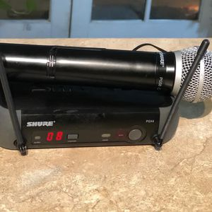 Shure PGX/ 58 Microphone Wireless System $180 Price Firm No trades for Sale in Mesa, AZ