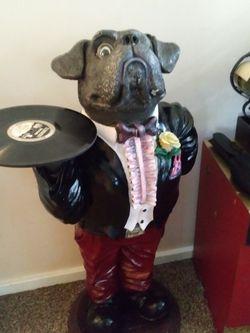 Bulldog Butler Resin Parlor Statue for Sale in La Verne,  CA