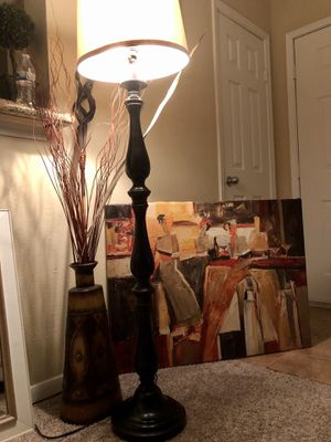 Large picture and lamp for Sale in Houston, TX