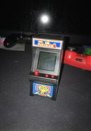 Ms Pac-Man hand held arcade game for Sale in Buckeye, AZ