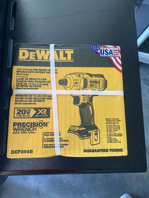 "Dewalt 20v XR 1/2"" impact wrench for Sale in Atlanta, GA"