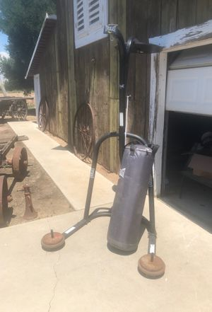 Everlast bag and stand with speed bag for Sale in Reedley, CA