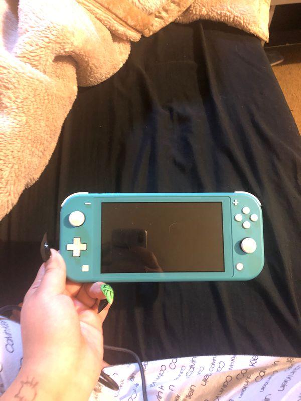 Turquoise Nintendo Switch Lite