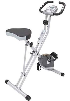 Exerpeutic Magnetic Upright Fitness Exercise Gym Bike with Heart Pulse Sensors for Sale in Bloomfield, NJ