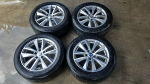 "2014-2017 INFINITI Q50 17""INCH OEM WHEELS W/ TIRES SET OF 4 for Sale in Fort Lauderdale, FL"
