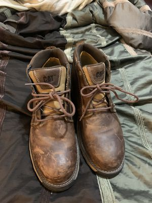 Cat Steel Toe Work Boots Sz 13 for Sale in Mansfield, TX