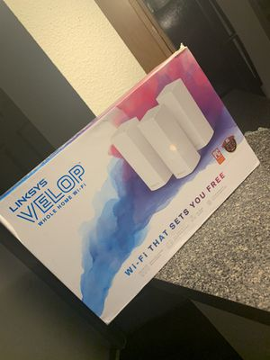 Linksys Velop 3-pack for Sale in Pearland, TX