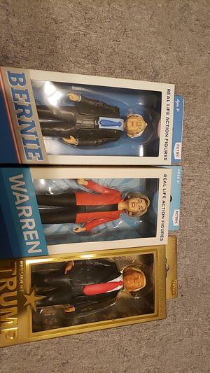 Bernie Elizabeth Trump Action Figures for Sale in Chicago, IL