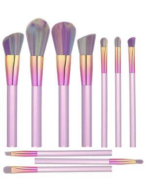 NEW BOX- 10 pcs Makeup Brush set for Sale in Piscataway Township, NJ