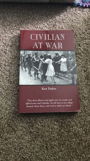 Civilian at war college book for Sale in Kingsley, MI