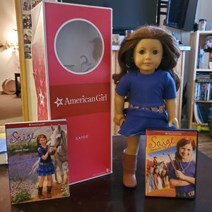 2013 American Girl of the Year .. Saige .. with bonus dvd for Sale in Las Vegas, NV