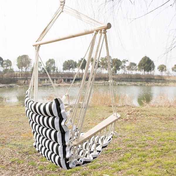 Brand New Hammock Hanging Rope Chair Swing Seat Outdoor Porch Camping Patio