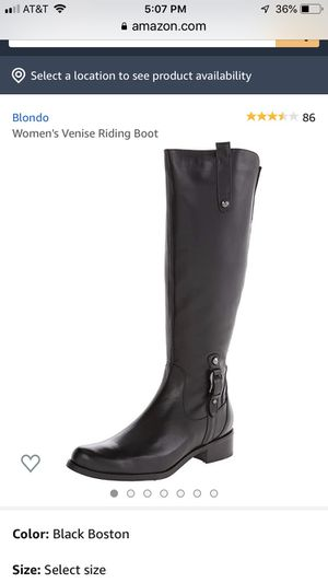 Blondo 86 Women's Venise Riding Boot NEW Size 6.5 for Sale in Downers Grove, IL