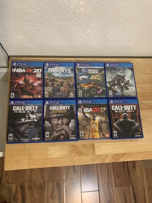 Ps4 Games for Sale in La Puente, CA