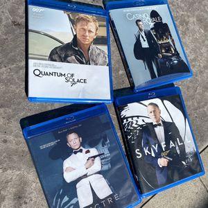 James Bond Blu-ray collection for Sale in Bradenton, FL