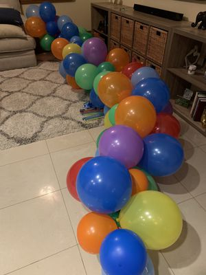 Birthday Special Events Balloons Garland Custom Fit Any Colors for Sale in Weston, FL