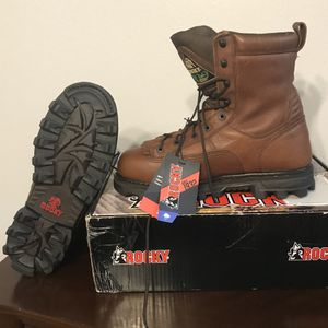 Rocky men's bearclaw insulated waterproof hunting boot size 11.5 M ,brand new for Sale in Land O Lakes, FL