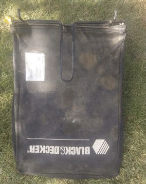 Black and decker electric lawn mower bag for Sale in Mesa, AZ