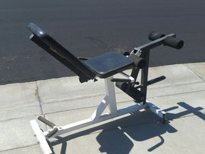 Parabody Gym leg combo weights machine for Sale in Canyon Lake, CA