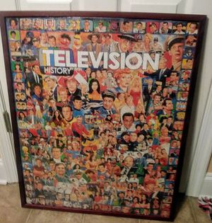 Television History Framed Puzzle picture for Sale in Lynchburg, VA