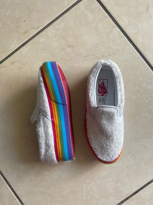Vans kids shoes - size 13.5 - never worn for Sale in Miami Beach, FL